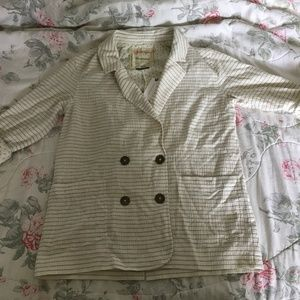 Anthropologie Cartonnier Summer Blazer Size S NWT